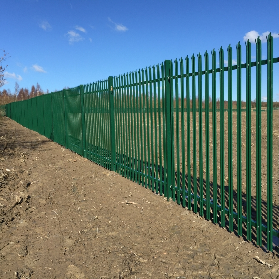 Fencing at Denby Hall Business Park (FZ066)